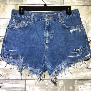 Calvin Klein Jeans Distressed Shorts Size 7/8